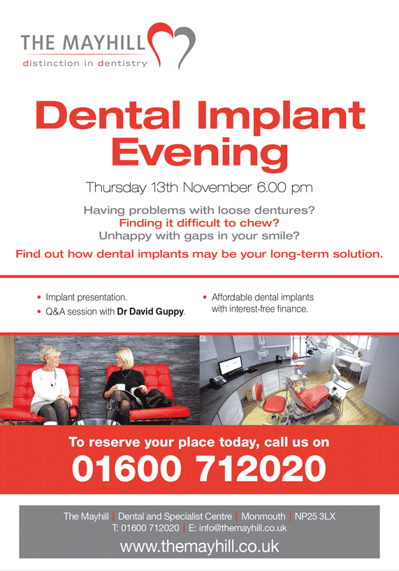The Mayhill dental implant evening