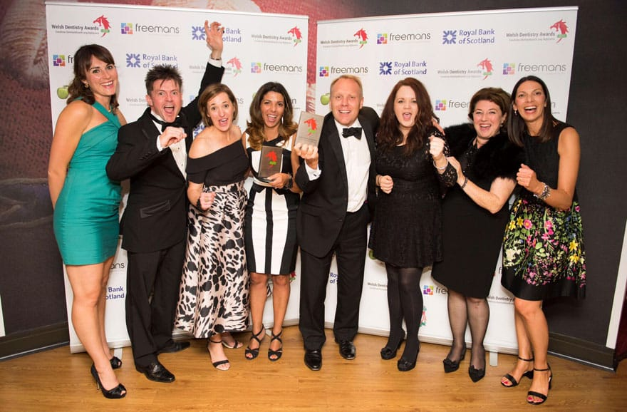 Monmouth Dental  Practice wins National Award