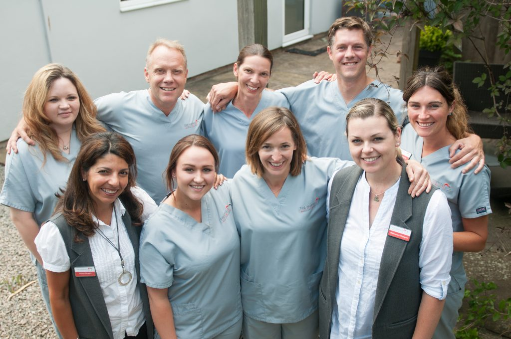 Friendly dental team at the Mayhill near Chepstow